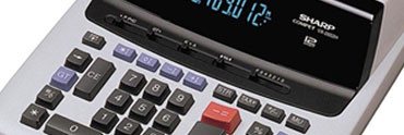 Kalkulátory SHARP